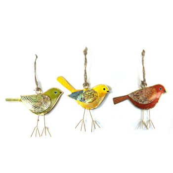 Bird Planey, set of 3