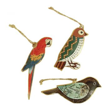 Bird Happy, set of 3