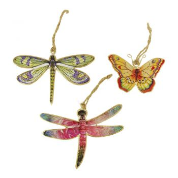 Butterfly Happy, set of 3