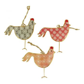 Chicken Mess, set of 3