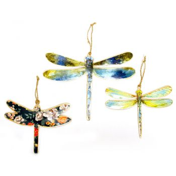 Dragonfly, set of 3