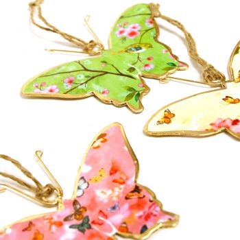 Butterfly now, set of 3