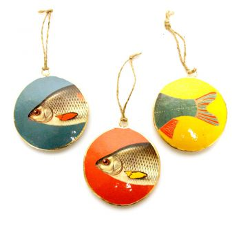 Hangings Ocean M, set of 3