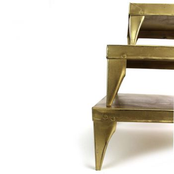 Tafel Rosie Gold, set of 3