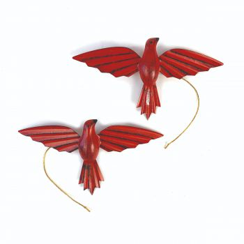 Pagaro Red, set of 2