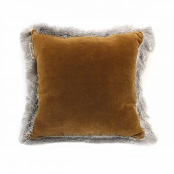 Cushion Silvercloud Brown
