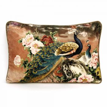 Cushion Peacock