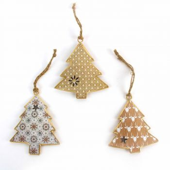Hanging Trees Beauty, set of 3