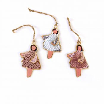 Hanging Angel Angela, set of 3