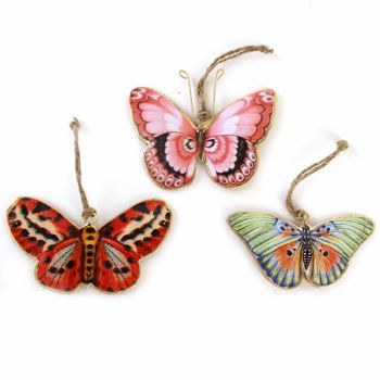 Hanging Butterfly Boho, set of 3