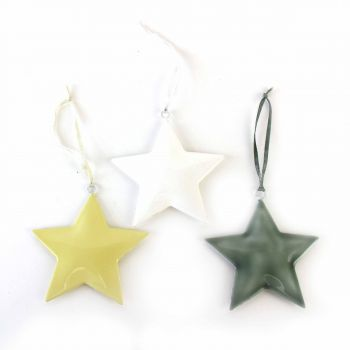 Hanging Stars Planey, set of 3