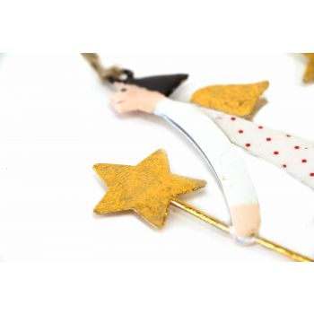 Hanging Star Lady's, set of 3