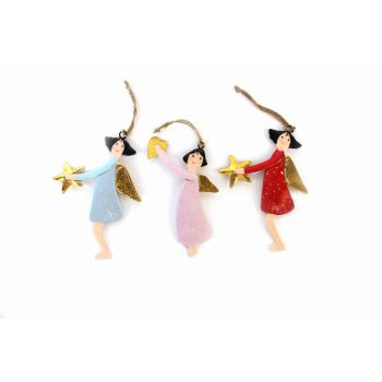 Hanging Dancing Lady's, set of 3