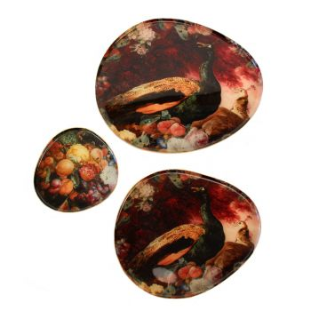 Plates Xena, set of 3