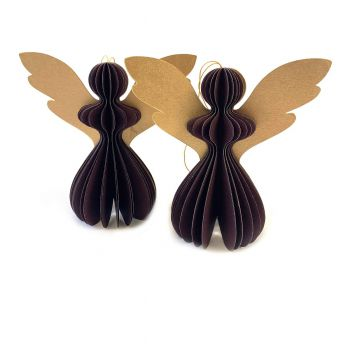 Angel Gabriela S Purple, set of 2
