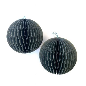 Ball Spot L Green, set of 2