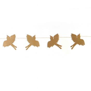 Bird Confetti Gold